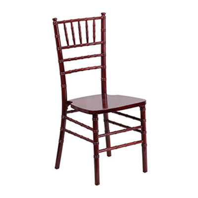 Mahogany Wood Chiavari Chair