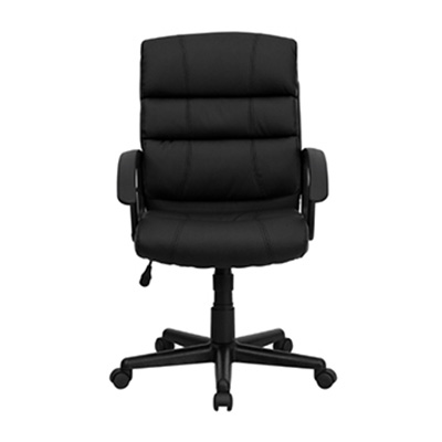 Bali Mid-Back Black Task Chair