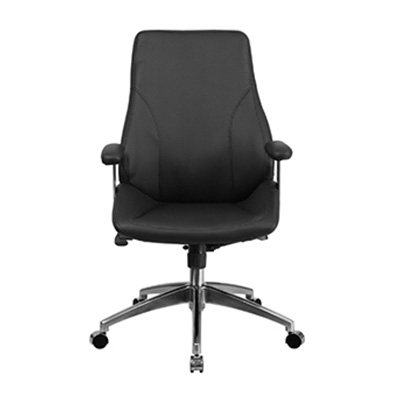 Vibe Mid-Back Black Task Chair