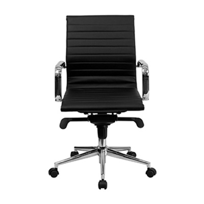 Sona Mid-Back Ribbed Task Chair