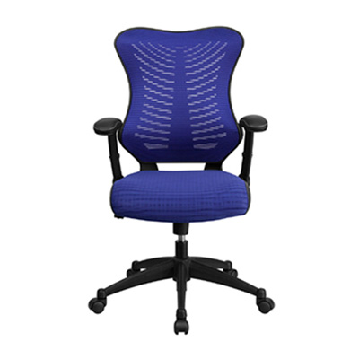 Vivid High-Back Blue Task Chair
