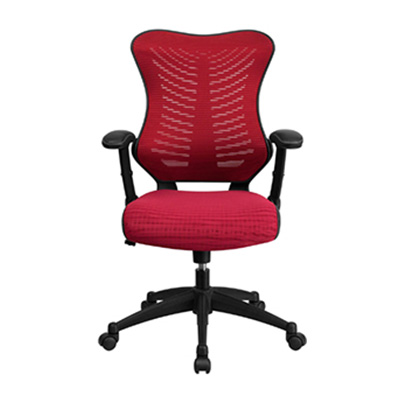 Vivid High-Back Burgundy Task Chair