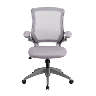Sigma Mid-Back Gray Mesh Task Chair
