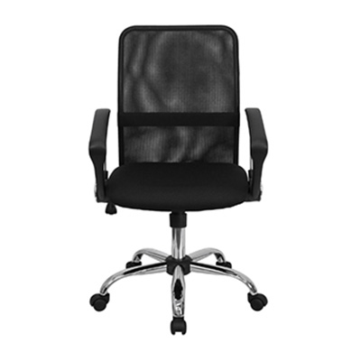 Mesa Mid-Back Black Mesh Task Chair