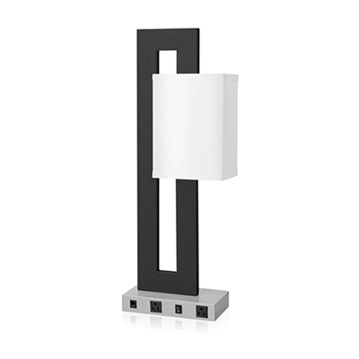 Desk Lamp Double Socket