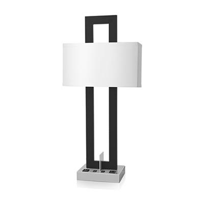Nighstand Lamp Double Socket
