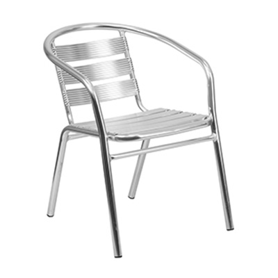 Heavy Duty Aluminum Restaurant Stack Chair